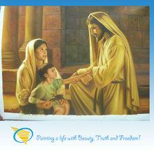 high quality handmade jesus oil painting (Jesus loves me so!)
