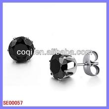 Factory wholesale fashion stainless steel earring cartoon earrings