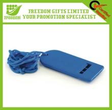 Promotional Gifts Popular Custom Cheap Plain Plastic Whistle