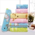 Microfiber cute cut pile hot- transfer printing children bath towel