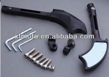 Ax BLACK CNC Left&Right Rear Mirrors For Kawasaki W650 Z750 Z700 Z650