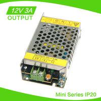 LED Power Supply 12V 36W no Waterproof