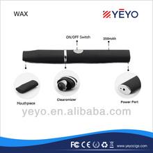 Portable mini e cigarette dry herb/wax pen vaporizer e cigarette for 2014
