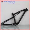 nuovo ad alta resistenza e resistente mtb in fibra di carbonio struttura della bicicletta full suspension