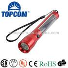 mini solar power supply rechargeable led solar flashlight