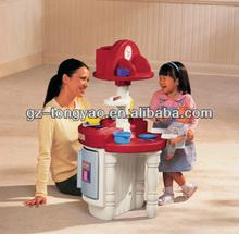 TY-12511 Make voice plastic toy children kitchen equipment
