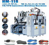 2 Stations Static TPU and TR Soccer Shoe Outsole Injection Moulding Machine