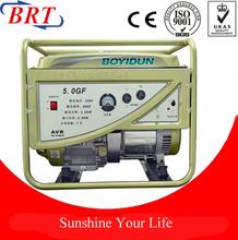 1-8kw Mini generator Gasoline Generator electric generator with handle ,wheel
