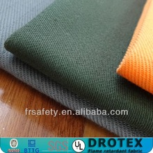 330gsm Sateen 100 Cotton Anti-fire Fabric Cotton FR Fabric for Workwear Uniform