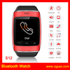 Pedometer watch Twitter,facebook,weather, pedometer and bluetooth calling, SMS, music, Touch screen S12