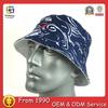 High Quality Short Brim Stylish Cotton Streetwear Custom Print Bucket Hat