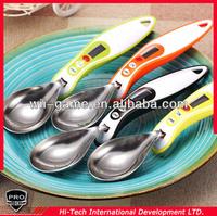 Detachable head electronic kitchen scale measure spoon