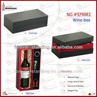 WinePackages PU Leather korean rice wine,wine,rice wine