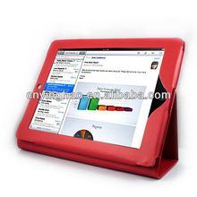 Design latest for ipad 3 leather folio case