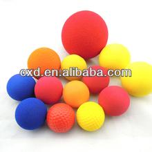 High density sponge solid bullet EVA foam ball/ wholesale ball