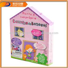 House Shape Gift Box,House Shaped Box,House Shaped Cardboard Box