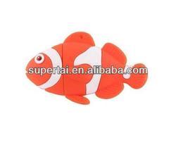 fish plastic USB flash drive
