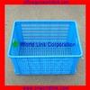 580 Transport Mesh Stacking Plastic Milk Crates For Sale