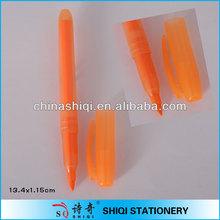 orange slender plastic water color pen