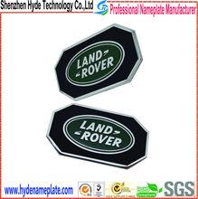 high end quality land rover car key label,custom car key sticker
