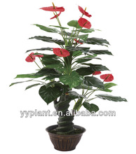 2014 hot selling SGS standard new design garden products exotic and tropical bonsai artificial plant and flowers----0211