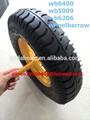 Borracha carrinho de mão pneu 13 polegada 16 polegada