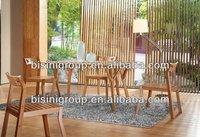 Bamboo furniture dining set (BF10-B63)
