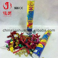 mixed color paper confetti cannon, party favor decoration