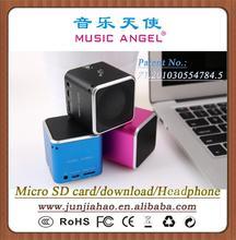 MUSIC ANGEL JH-MD06D earphone hot selling mini speakers for little models online shopping