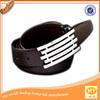 Black Crocodile Leather all-match Italian leather belts wholesale