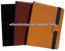 Smart elegant cowhide leather case for tablet