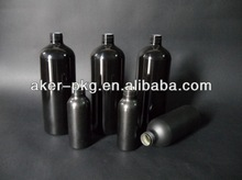 Epoxy Inner Coating Black Frosted Vodka aluminum Bottle