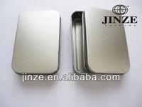 Metal soap tin box