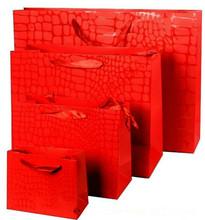 2014 custom cheap paper t shirt shopping bags printing wholesale