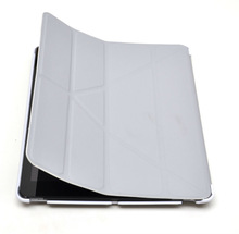 Magnetic Smart I pad Case - Grey