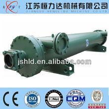 Shell & Tube marine diesel heat exchanger/titanium SA506 Gr70 60
