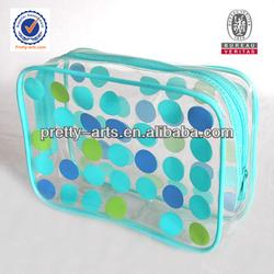 fashional cheapest small pvc cosmetic bag&bath bag