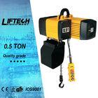 0.5 Ton electric chain hoist