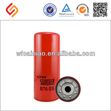 Good reputation OEM/ODM quality made in china G395 B76-SS oil filter
