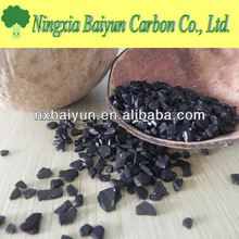 4x8 Mesh Granular Acid washed Activated Carbon with Coconut Husk Base