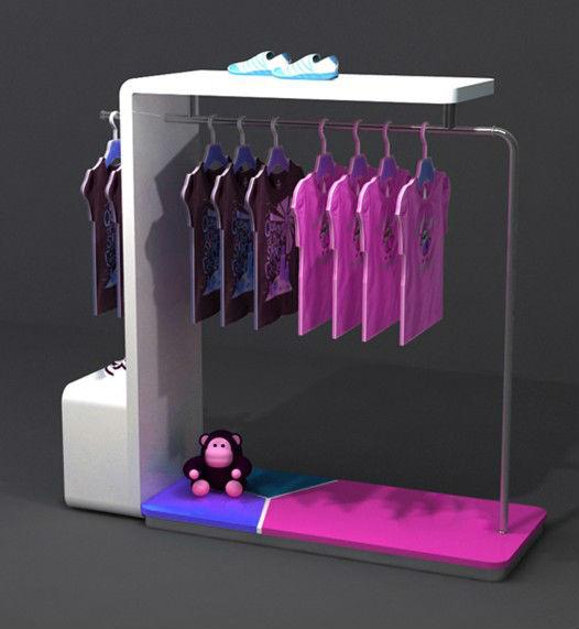 Sale Fashion Design Hanging Clothes Metal Display Racksclothes Metal