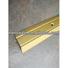 Best quality aluminum extrusion profile for flooring item for carpet