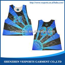 Hot sublimated reversible lacrosse jerseys wholesale
