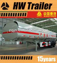 45000 litres fuel tanker semi trailer insulation