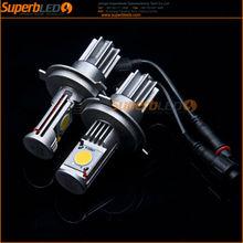 Factory supply 50W DC12V 6000K with fans car H7 led headlight bulbs