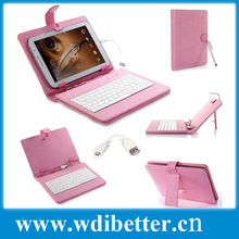 tablet PC accessories -Hot sale computer accessories -Leather Keyboard Case - For 7 Inch Android Tablet PC