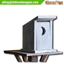 Natural Wooden Bird Cages,Garden Bird Nesting Boxes, Bird Houses