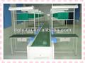 Ligne d'assemblage automatique avec table de travail/v belt line production