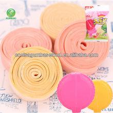 coolsa yummy fruit flaovrs type bubble roll gum