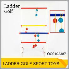 Kids toys sport plastic ladder golf ball game OC0102387